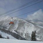 Orange Bubble lift at the Canyons