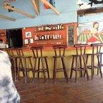 the bar at The Shack