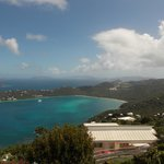 Magens Bay.  Perhaps the best public view available on St Thomas.