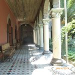 Inside the museum corridors