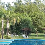 Vista de la piscina central