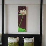 Thailand decore in the Menam Riverside hotel room