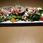 Squash & Spinach Salad
