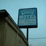 motel sign,at 3620 n main st,fort worth,tx.