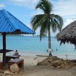 The beach at La Guaira (6km from us)