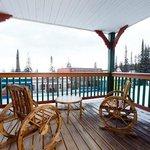 Vance Creek Suite Balcony