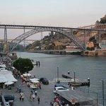 Pestana Porto view from room to bridge
