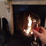 Toasting by the fire