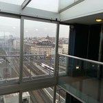 Lift lobby on the 9th floor