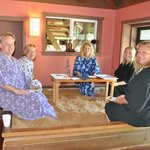 Enzyme Foot Bath - a convivial way to enjoy the spa with friends