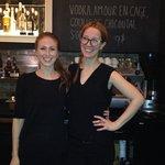 Le team de barmaids sympas...