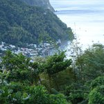 Soufriere from Cashew 1