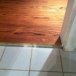 Uneven flooring