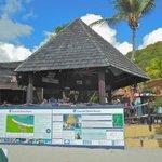 Awesome Tiki bar on the beach