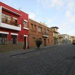 Street View Looking North from Casa de Las Rosas