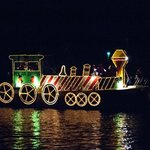Watch the December Christmas Walk Boat Parade from our dock