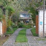 Drive into Hacienda Las Palmeras