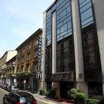 Facade at Hotel Sanpi Milano