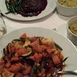 Steak and veggie stew