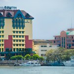 Building from Kuantan River Waterfront side