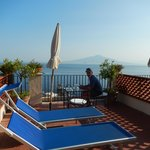 Early morning, views of Mt. Vesuvius