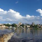 Vista para a cidade de Corumbá