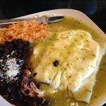 Cheese enchilada plate