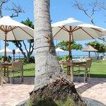 Nice beach side restaurant