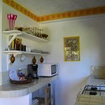 Suites Santo Domingo - kitchen