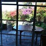 Suites Santo Domingo - patio area
