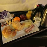 Fresh and delicious breakfast delivered to your room!