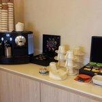 Nesspresso coffee-machine@ executive lounge