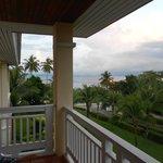 Balcony view towards seas