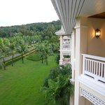 balcony view to garden