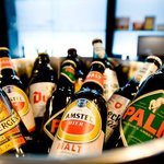 Try the famous Dutch and Belgium beers