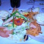 salade de chevre chaud