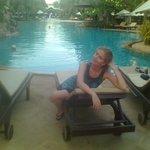 Один из бассейнов на территории отеля.