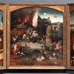 Bosch's Triptych of the Temptation of St. Anthony was a lot of fun to watch