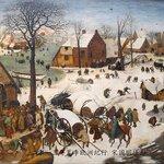 The Enrollment of Bethlehem by Bruegel the Elder