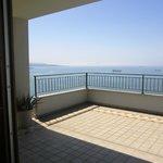 Vista mare dalla nostra terrazza solarium.