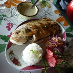 Carangue à la crème de vanille de Huahine
