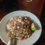 Fish Ceviche...finguer licking good! and fresh!!!