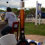 The light House Beer dispensers!!! great with friends, your choice of beer