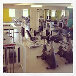 Well equipt gymnasium