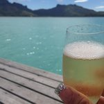 bubbles with a million dollar view
