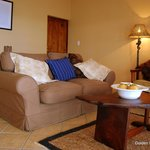 Open plan lounge area, Golden Sands Apartments, Sol Resorts, Vilanculos
