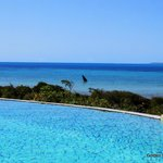 Swimming pool with beach view, Golden Sands Apartments, Sol Resorts, Vilanculos