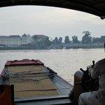 Anfahrt mit dem Boot