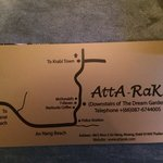 Atta Rak is the name you'll see from the street
