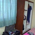 Open wardrobe easy access